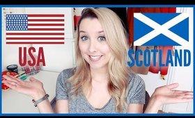 SCOTTISH/BRITISH WORDS VS USA WORDS