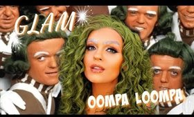 GLAM Oompa Loompa Halloween Makeup