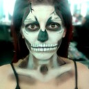 Skeletor makeup
