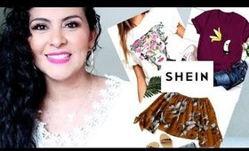 SheIn pedido de ropa online
