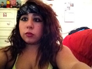 The chola wings are soo hard to do! Tried to recreate the make-up done in Lady Gaga's music vid. Judas