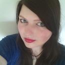Dark hair and Bold Lips