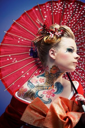 My photo contest for H & M beauty Japan, and won some makeup packages also my photo was in January 2012 page.