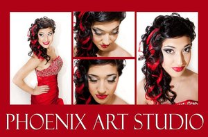 MAKE UP AND HAIR BY PHOENIX ART STUDIO OWNER: MONICA