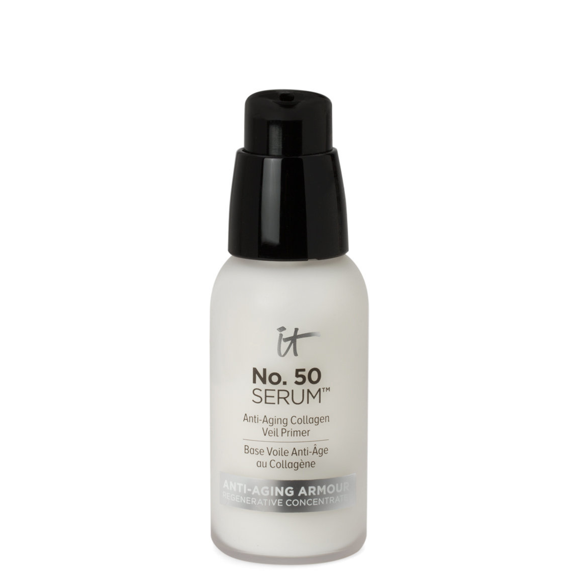 IT Cosmetics  No. 50 Serum Anti-Aging Collagen Veil Primer product smear.