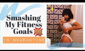 restarting my fitness journey AGAIN while in quarantine... | goals, challenges, & starting physique