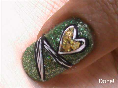 modern art inspired easy nail design beginners nail