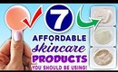 7 Affordable Skincare Products You Should Be Using NOW!