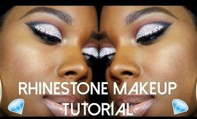 Rhinestone Makeup Tutorial | Ft. MAC X Mariah Carey Collection