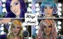 Huge Wigs Haul from Ebay & Honey Colour Lenses!