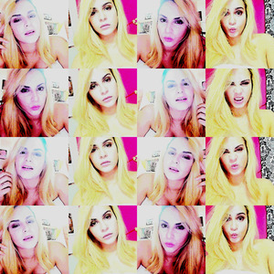 This is what you do on a mac when you're bored waiting for your friends to go out! lol <3  selfie overload!