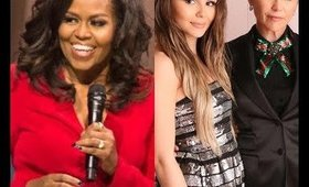 MICHELLE OBAMA FORESHADOWS LORI LOUGHLIN OLIVIA JADE COLLEGE SCANDAL