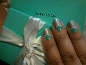 Tiffany inspired Half Moon