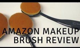 WOVTE Makeup Brush Set review  Artis Oval Makeup Brush DUPE