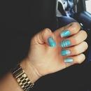 light blue diamonds