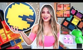 WET N WILD PAC-MAN REVIEW MAKEUP TUTORIAL!