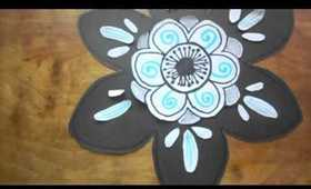 DIY:: Flower Wall Decals