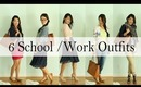 Dress It Yourself: 6 Back to School & Work Outfit Ideas