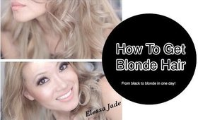 How to Get Perfect Blonde Hair from Dark Hair
