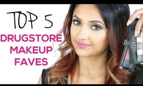 Top 5 Drugstore Makeup Faves