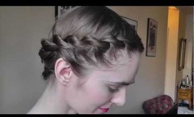 FAUX DUTCH BRAID Hair-style