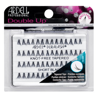 Double Up Soft Touch Individuals Knot-Free Lashes  Double Up Short Black