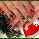 Christmas nails together :-)