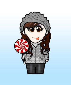 I think I'd look like this... Hahahaha