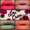LimeCrime Lippies