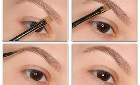 Eyebrow with  MAC Cosmetics