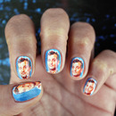 Bill Murray Nail Art