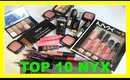 Top 10 NYX Favorites with HollieEatsLipstick