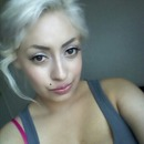 old picture of me with blonde hair