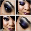 Purple/Blue Smokey Eye