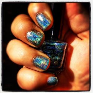 Glitter gal- bondi blue