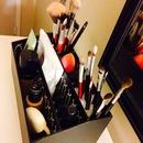 Table top makeup/brush organizer