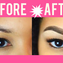 Anastasia Dipbrow Pomade  Before & After