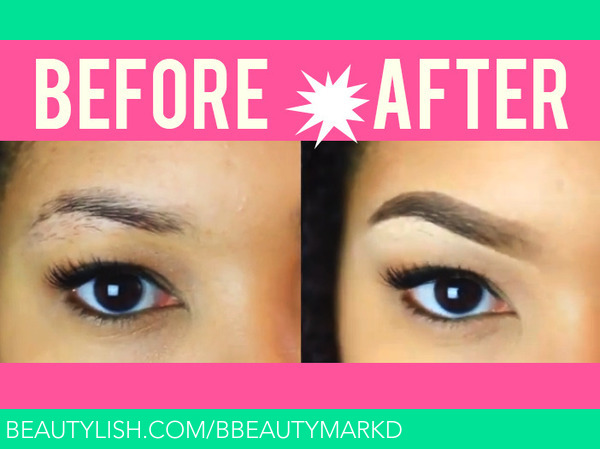 Anastasia Dipbrow Pomade Before Amp After Micaela J S Bbeautymarkd Photo Beautylish