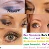 Purple and Green smokey eye