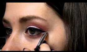 """""""Candy Cane Inspired Holiday Eyeshadow Tutorial"""""""