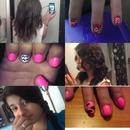 just random hair, and nails