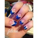 Blue Mani💅💅