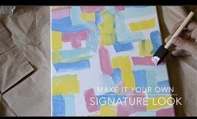 BACK TO SCHOOL: DIY ART CANVAS