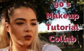 90's Collab Makeup Tutorial | Beauty by Pinky