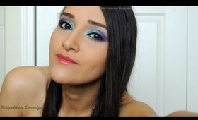 Girls Night out! Pink and Purple Makeup With Allechant Mineral Cosmetics!