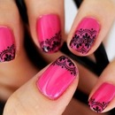 lace nails google