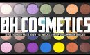 BH Cosmetics 28 Foil Eyeshadow Palette l Swatches, Review and Makeup Geek Comparison Swatches!