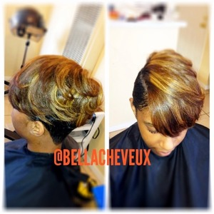 Wash and style and color by me