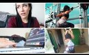 A Day In The Life : Leg Day Workout! & Video Editing | Rosanna Pierce