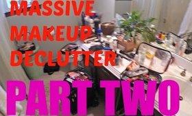 I MAY HAVE A PALETTE PROBLEM!! │Massive Decluttering Part 2